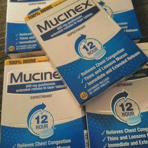 200-ct.Tablets Mucinex 12 Hr Chest & Sinus Relief